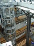 Neuere Hauptbahnhof in Berlijn Royalty-vrije Stock Foto