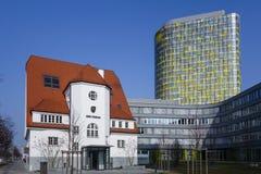 Neues ADAC hat Münchens, Deutschlands Stockfoto