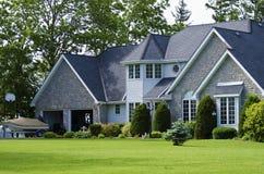 Neues amerikanisches Haus Lizenzfreie Stockbilder