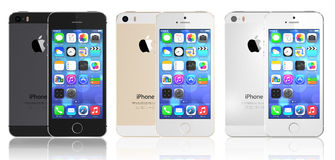 NEUES APPLE IPHONE 5S lizenzfreie abbildung
