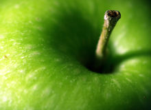 Neues Apple-Makro Lizenzfreies Stockfoto