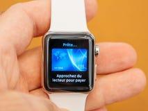 Neues Apple passen Apfellohn der Reihe 3 auf Stockfotografie