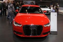 Neues Audi A6 Stockbilder