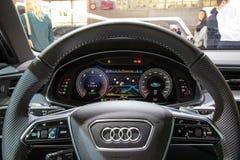 Neues Auto Audis A6 lizenzfreies stockfoto