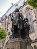 Neues Bach Denkmal Royalty-vrije Stock Foto's