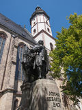 Neues Bach Denkmal Στοκ Φωτογραφία