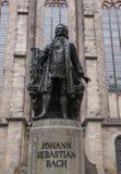 Neues Bach Denkmal fotos de archivo libres de regalías