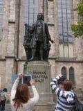 Neues Bach Denkmal Stock Image