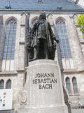 Neues Bach Denkmal Stock Images