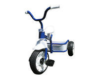 Neues blaues Trike Stockfotos