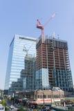 Neues bulding constrution New York City Lizenzfreie Stockbilder