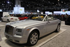 Neues Coupé 2014 Rolls Royce Phantom Drophead Lizenzfreies Stockbild
