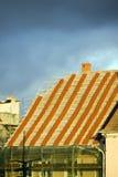 Neues Dach Stockbild