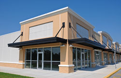 Neues Einkaufszentrum Stockbilder
