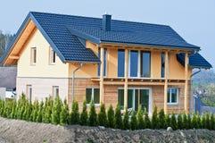 Neues einzelnes Familien-Haus Stockfoto