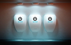 Neues Energiekonzept Lizenzfreie Stockfotografie