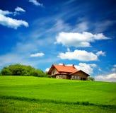 Neues Familienheim stockbild