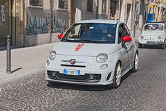 Neues Fiat 500 Abarth Lizenzfreie Stockfotos