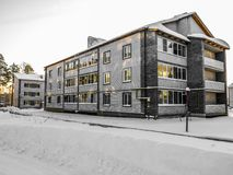 Neues Gebäude Stockbild