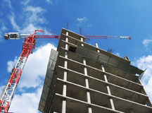 Neues Gebäude Lizenzfreie Stockfotos