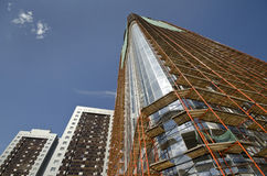 Neues Gebäude von Saratow Stockfoto
