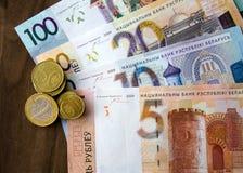 Neues Geld in Weißrussland Lizenzfreies Stockfoto