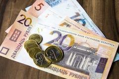 Neues Geld in Weißrussland Lizenzfreie Stockbilder