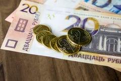 Neues Geld in Weißrussland Lizenzfreies Stockbild