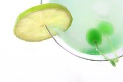 Neues grünes coctail lizenzfreie stockfotografie