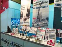 Neues hardwarepart in asiean metallex 2014 bitec bangna, Bangkok Lizenzfreie Stockbilder