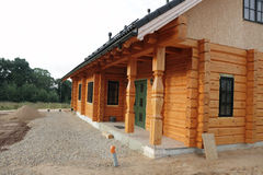 Neues Haus. Stockfoto