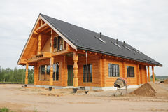 Neues Haus. Stockbild