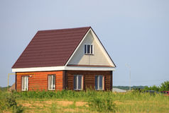 Neues Haus Lizenzfreie Stockfotografie