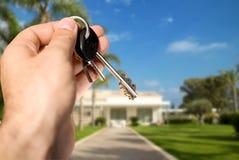Neues Haus für Verkauf Stockfotografie