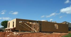 Neues Haus-Feld Lizenzfreie Stockfotos