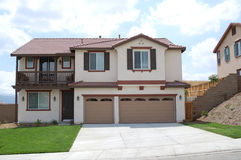 Neues Haus in Kalifornien Lizenzfreie Stockbilder