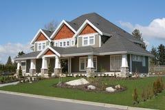 Neues hochwertiges Haus Stockfotos