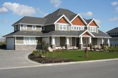 Neues hochwertiges Haus Lizenzfreies Stockfoto