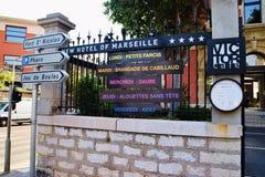 Neues Hotel von Marseille Lizenzfreies Stockfoto