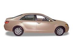 Neues hybrides Limousine-Auto Stockbild