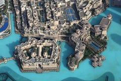 Neues im Stadtzentrum gelegenes Dubai Stockfoto