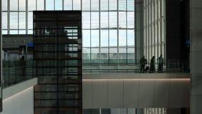 Neues Istanbul-Flughafenabfertigungsgebäude Dritter Istanbul-Flughafen stock video