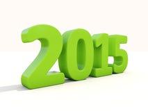 Neues 2015-jähriges Stockbild