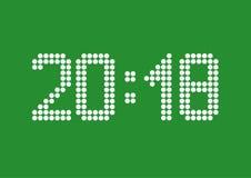 2018 neues Jahr Lizenzfreies Stockbild