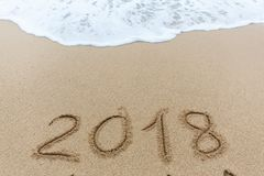 Neues Jahr 2018 Lizenzfreie Stockfotos