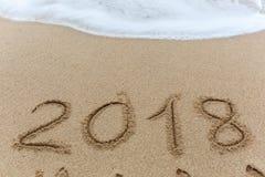 Neues Jahr 2018 Stockfotografie