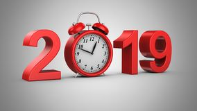 Neues Jahr 2019 stock video footage