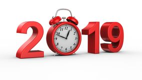 Neues Jahr 2019 stock video