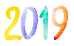 Neues Jahr 2019 lizenzfreies stockfoto