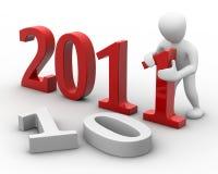 Neues Jahr lizenzfreie abbildung
